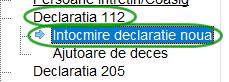 declaratia 112