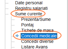 concediu medical